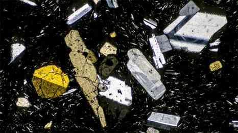 Photographie de Gilles Martin de minéraux