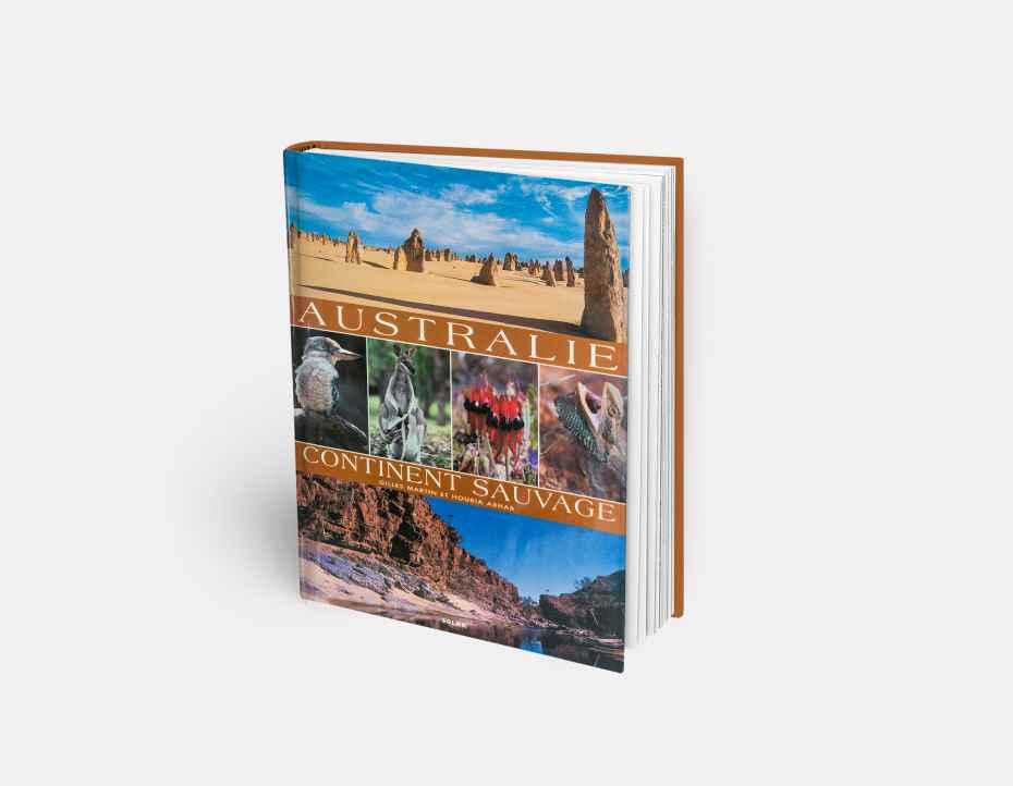 """Livre """"Australie continent sauvage"""", disponible sur la boutique en ligne de Gilles Martin"""