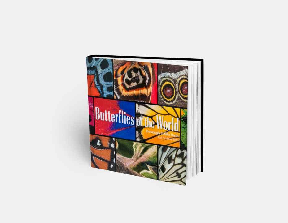 """Livre """"Butterflies of the World"""", disponible sur la boutique en ligne de Gilles Martin"""