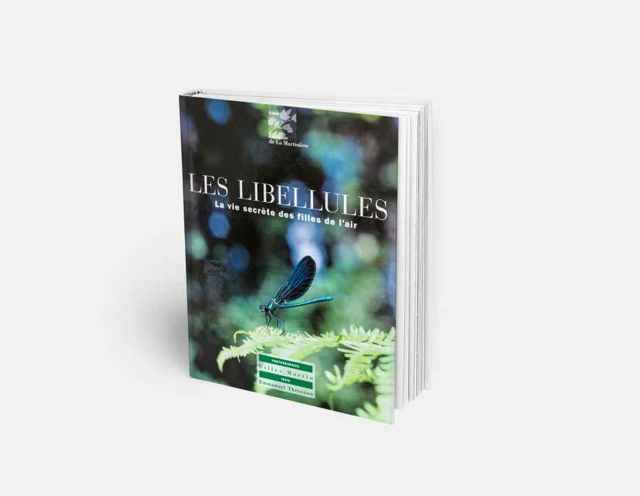 """Livre """"Les libellules"""", disponible sur la boutique en ligne de Gilles Martin"""
