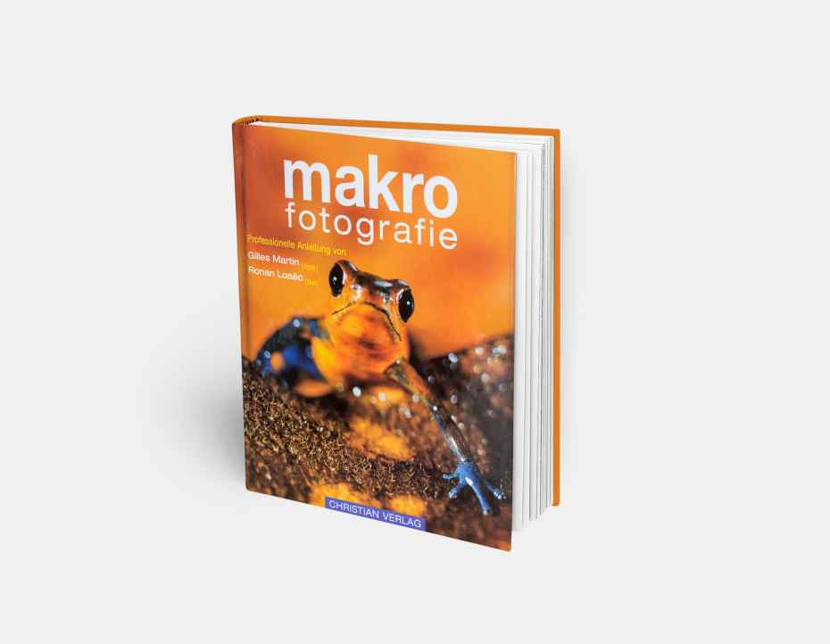 """Livre """"Makro Fotografie"""", disponible sur la boutique en ligne de Gilles Martin"""