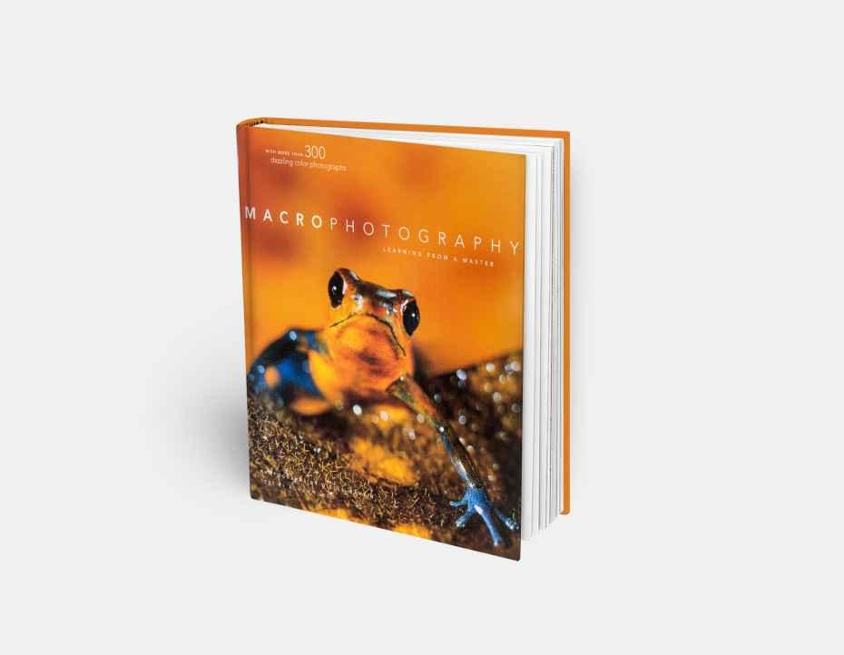 """Livre """"Macrophotography"""", disponible sur la boutique en ligne de Gilles Martin"""