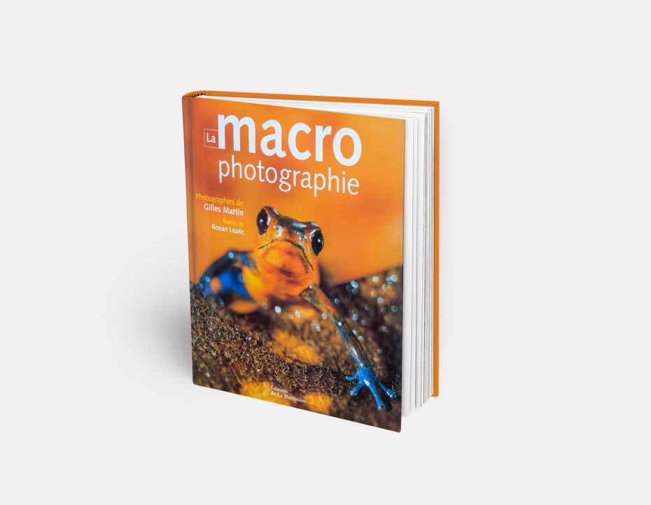 "Book ""La macrophotographie"", available online in Gilles Martin's shop"