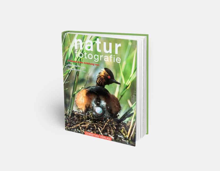 """Livre """"Photographier la nature dans tous ses milieux"""", disponible sur la boutique en ligne de Gilles Martin"""