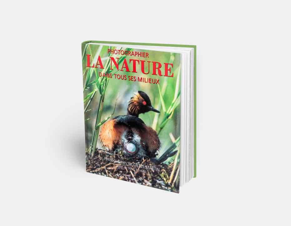 """Livre """"Natur Fotografie"""", disponible sur la boutique en ligne de Gilles Martin"""