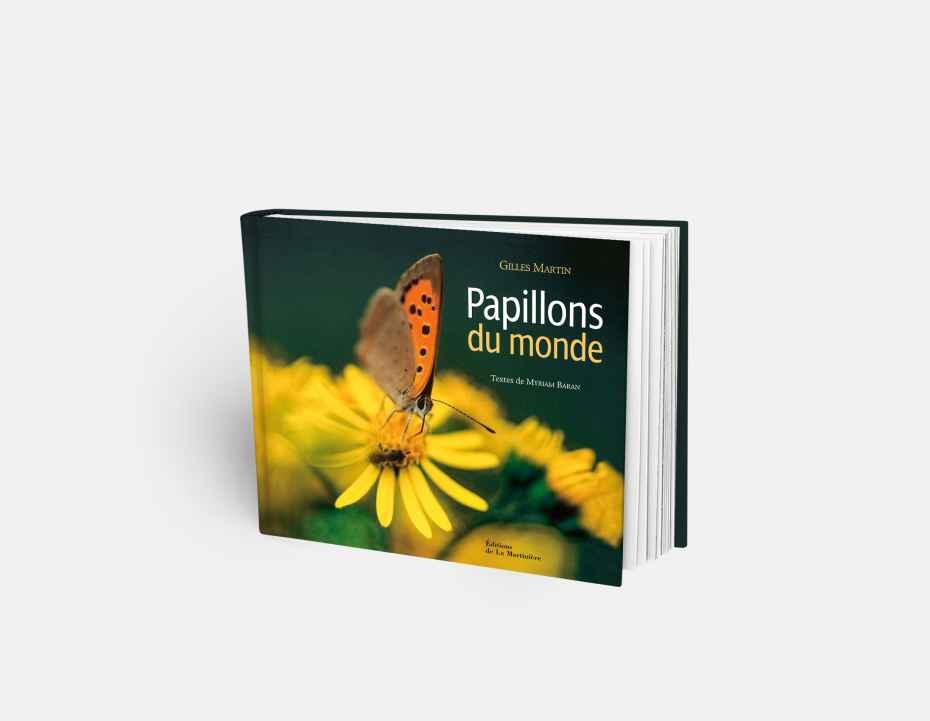 """Livre """"Papillons du monde"""", disponible sur la boutique en ligne de Gilles Martin"""